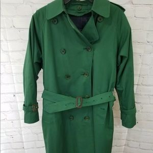 Burberry Womens Double Breasted SIZE 8 Trench Coat